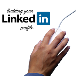Building a linkedin profile graphic