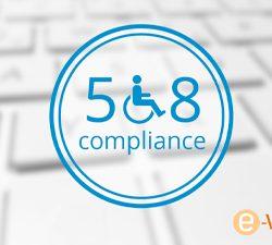 ADA 508 compliance logo